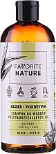 Düfte, Parfümerie und Kosmetik Shampoo für fettiges Haar mit Aloe und Brennnessel - Favorite Nature Shampoo For Oily Hair Aloes & Nettle