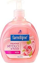 Düfte, Parfümerie und Kosmetik Flüssigseife - Pollena Savona Familijny Rose Creamy Liquid Soap