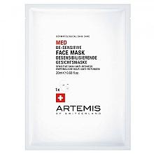 Düfte, Parfümerie und Kosmetik Desensibilisierende Gesichtsmaske gegen Rötungen - Artemis of Switzerland Med De-Sensitise Face Mask