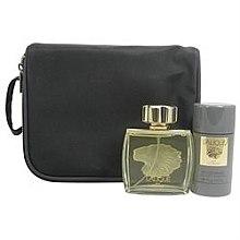 Düfte, Parfümerie und Kosmetik Lalique Lalique Pour Homme - Duftset (Eau de Parfum 75ml + Deospray 75ml + Kosmetiktasche)