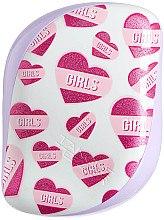 Düfte, Parfümerie und Kosmetik Kompakte Haarbürste - Tangle Teezer Compact Styler Girl Power