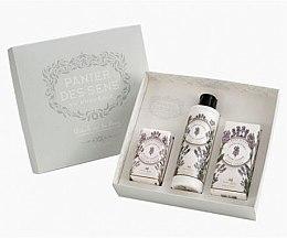Düfte, Parfümerie und Kosmetik Set - Panier Des Sens Lavender (b/lot/250ml + hand/cr/75ml + soap/150g)