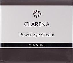 Düfte, Parfümerie und Kosmetik Creme für die Augenpartie für Männer - Clarena Men's Line Power Eye Cream