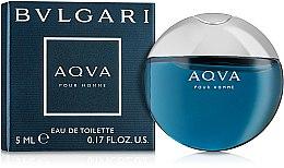 Düfte, Parfümerie und Kosmetik Bvlgari Aqva Pour Homme - Eau de Toilette (Mini)
