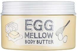 Düfte, Parfümerie und Kosmetik Feuchtigkeitsspendende Körperbutter mit Sheabutter, Eigelb- und Eiweiß-Extrakt - Too Cool For School Egg Mellow Body Butter