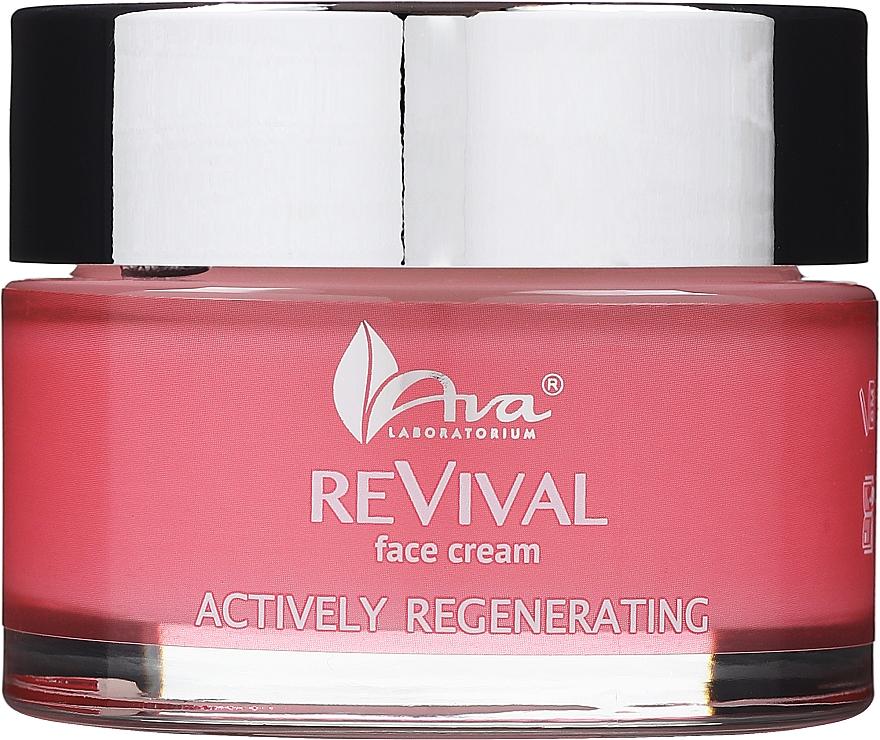 Aktiv regenerierende Gesichtscreme mit Vitamin E, Argan- und Traubenkernöl - Ava Laboratorium Revival