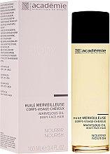 Düfte, Parfümerie und Kosmetik Seidenöl für Gesicht, Körper und Haar - Academie Marvelous Oil