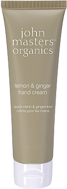 Feuchtigkeitsspendende Handcreme Zitrone & Ingwer - John Masters Organics Lemon & Ginger Hand Cream — Bild N1
