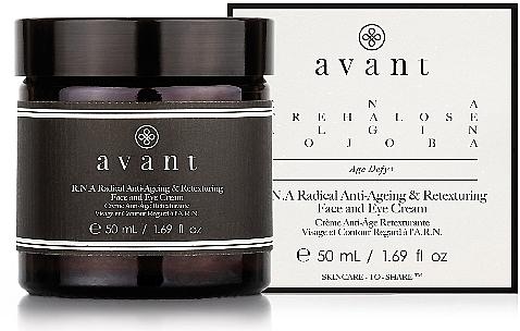 Restrukturierende Anti-Aging Gesichts- und Augenkonturcreme - Avant R.N.A Radical Anti-Ageing and Retexturing Face and Eye Cream — Bild N1