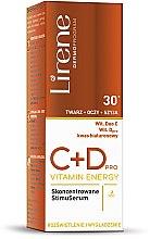 Düfte, Parfümerie und Kosmetik Gesichtsserum - Lirene C+D Pro Vitamin Energy Iluminating Serum With Smoothing Effect 30+