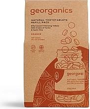Düfte, Parfümerie und Kosmetik Zahnputztabletten mit Orange - Georganics Natural Toothtablets Orange (Refill)