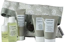Düfte, Parfümerie und Kosmetik Set - Comfort Zone Tranquillity Set (oil/5ml + sh/cr/25ml + b/lot/25ml + h/cr/15ml + oil/15ml)