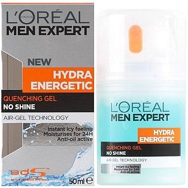 After Shave Gel - L'Oreal Paris Men Expert Hydra Energetic Moisturizer Quenching Gel — Bild N1