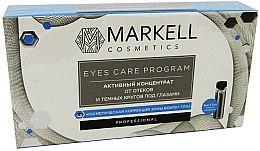 Düfte, Parfümerie und Kosmetik Aktives Konzentrat gegen Schwellungen und dunkle Augenringe - Markell Professional