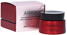 Düfte, Parfümerie und Kosmetik Glättende Gesichtscreme gegen tiefe Falten - Ahava Apple Of Sodom Advanced Deep Wrinkle Cream