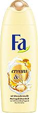 Düfte, Parfümerie und Kosmetik Verwöhnende und pflegende Cremedusche mit Macadamia-Öl und Moringablüten-Duft - Fa Cream&Oil Macadamia Shower Cream