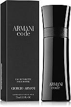 Düfte, Parfümerie und Kosmetik Giorgio Armani Armani Code - Eau de Toilette