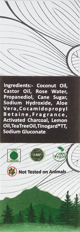 Handgemachte Seife Aktivkohle - Lass Naturals Soap — Bild N2
