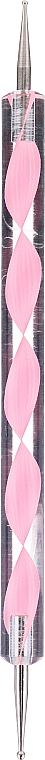 Doppelseitiger Nagelkunststift rosa - MylaQ My Funny Dots — Bild N1