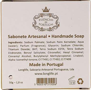 Naturseife Jasmine - Essencias De Portugal Lady of Fatima Jasmine Soap Religious Collection — Bild N2