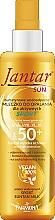 Düfte, Parfümerie und Kosmetik Wasserdichte Sonnenschutzmilch für den Körper SPF 50+ - Farmona Jantar Sun Sport Suntan Milk SPF 50+