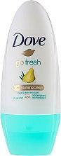 Düfte, Parfümerie und Kosmetik Deo Roll-on Antitranspirant - Dove Go Fresh Pear & Aloe Vera Deodorant