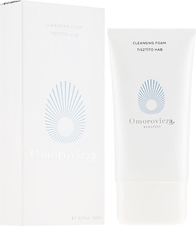 Erfrischender Gesichtsreinigungsschaum mit Apfelpektin und Lupineneiweiß - Omorovicza Cleansing Foam — Bild N1