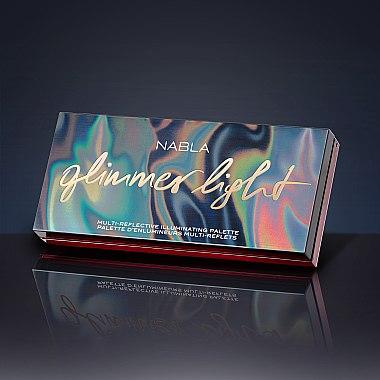 Lidschattenpalette mit schimmerndem Effekt - Nabla Glimmer Light Multi-Reflective Illuminating Pallette — Bild N4