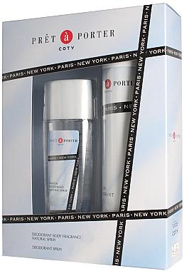 Coty Pret-a-Porter - Duftset (Parfümiertes Deodorant 200ml + Körperspray 75ml) — Bild N1