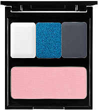 Düfte, Parfümerie und Kosmetik Schminkpalette - Pierre Rene Blue Palette Match System