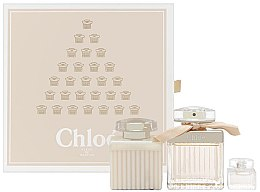 Düfte, Parfümerie und Kosmetik Chloe Fleur de Parfum - Kosmetikset (Eau de Parfum/75ml + Mini/5ml + Körperlotion/100ml)