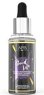 Konzentriertes Nagel- und Nagelhautöl mit Vitamin E - Apis Good Life Regenerating Oil For Cuticles & Nails — Bild N1