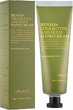 Düfte, Parfümerie und Kosmetik Handcreme mit Sheabutter und Olive - Benton Shea Butter and Olive