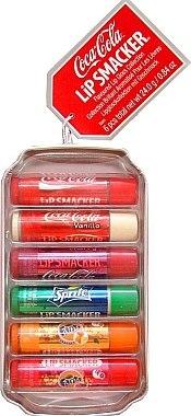 """Lippenbalsam-Set """"Coca-Cola"""" - Lip Smacker Coca-Cola Flavored Lip Gloss Collection (Lippenbalsam/6x4g) — Bild N2"""