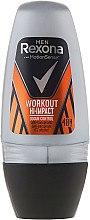 Düfte, Parfümerie und Kosmetik Deo Roll-on Antitranspirant - Rexona Men Motionsense Workout Hi-impact 48h Anti-perspirant