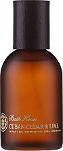 Bath House Cuban Cedar & Lime - Duftset (Eau de Cologne 100ml + Duschgel 260ml + Bartöl 30ml) — Bild N3