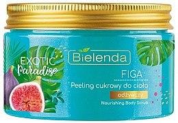 Düfte, Parfümerie und Kosmetik Nährendes Zuckerpeeling für den Körper mit Feigenextrakt - Bielenda Exotic Paradise Peel