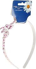 Düfte, Parfümerie und Kosmetik Haarreif mit Schmetterling weiß-rosa - Top Choice