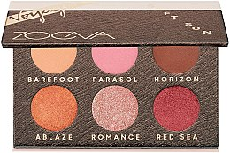 Düfte, Parfümerie und Kosmetik Lidschattenpalette - Zoeva Soft Sun Voyager Eyeshadow Palette