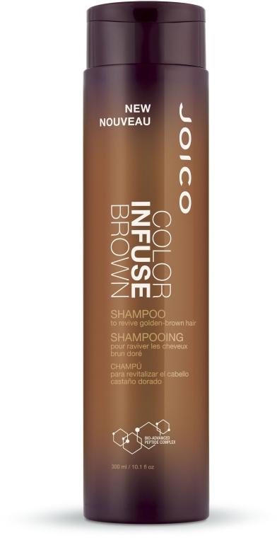 Shampoo für braune Haare - Joico Color Infuse Brown Shampoo — Bild N1