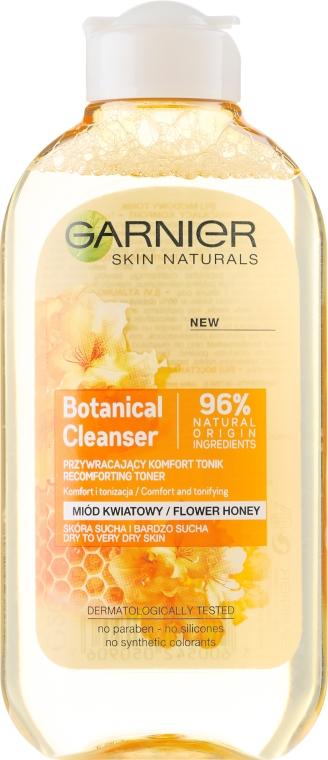 Mizellen-Reinigungswasser - Garnier Skin Naturals Botanical Flower Honey — Bild N1