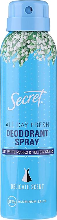 Deospray Antitranspirant - Secret Key Delicate Deodorant Spray — Bild N1