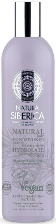 Regenerierender und schützender Conditioner mit sibirischer Zeder - Natura Siberica Natura And Organic Repair And Protection Conditioner — Bild N1