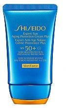 Düfte, Parfümerie und Kosmetik Anti-Aging Sonnenschutzcreme für Gesicht SPF 50+ - Shiseido Expert Sun Aging Protection Cream SPF 50