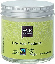 Düfte, Parfümerie und Kosmetik Erfrischende Fußcreme Limette - Fair Squared Lime Foot Freshener