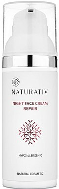 Nachtcreme - Naturativ Facial Night Cream — Bild N1