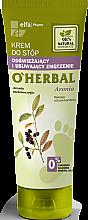 Düfte, Parfümerie und Kosmetik Erfrischende Fußcreme mit Apfelbeerextrakt - O'Herbal Refreshing And Fatigue Relief Foot Cream With Aronia Extract