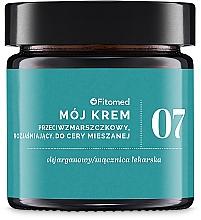 Düfte, Parfümerie und Kosmetik Aufhellende Anti-Falten Gesichtscreme für Mischhaut - Fitomed Face Cream №7