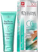 Düfte, Parfümerie und Kosmetik Beruhigende Gesichtscreme - Eveline Cosmetics Therapy