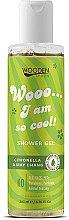 Düfte, Parfümerie und Kosmetik Duschgel mit Citronella und Litsea cubeba - Wooden Spoon I Am So Cool Shower Gel